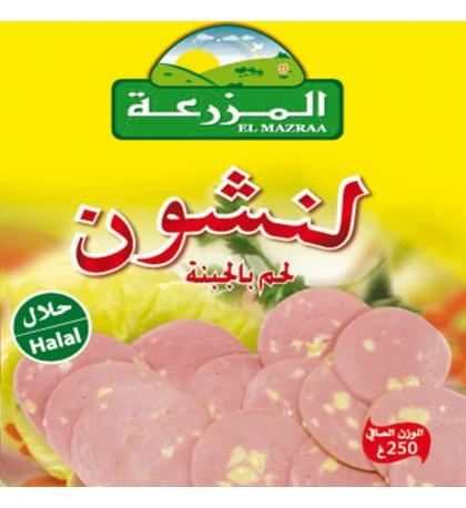 boite de conserve:Luncheon Meat au fromage el mazraa