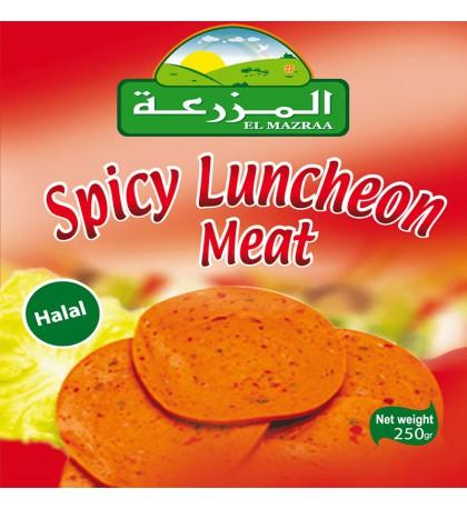 boite de conserve luncheon Meat piquant el mazraa-carthage market