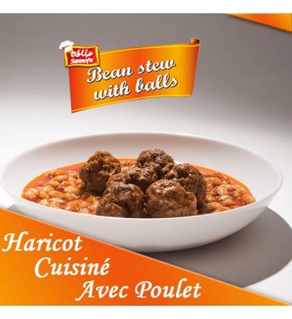 Boite-conserve-Haricot-cuisiné-avec-Poulet-mazraa