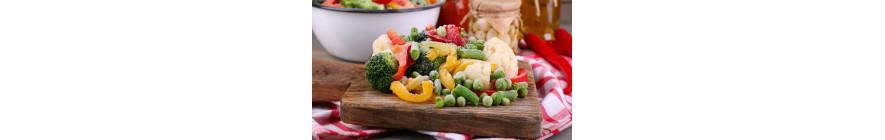 الخضراوات و الفواكه المجمدة